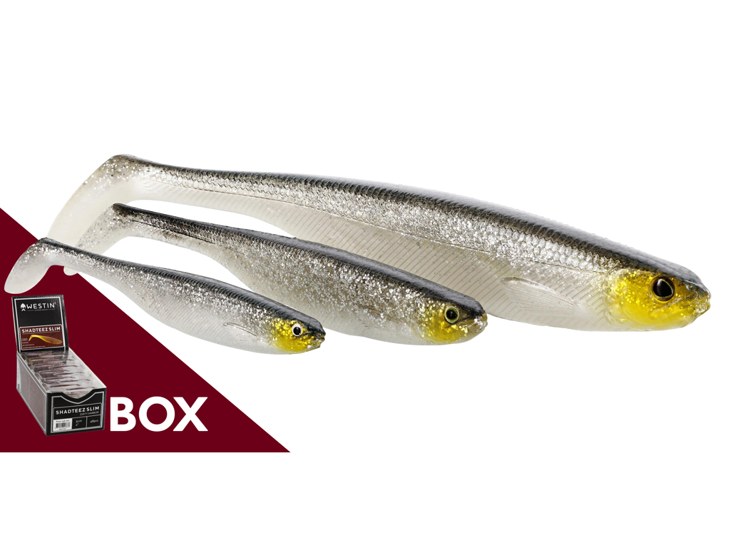 ShadTeez Slim 7,5cm 3g Crystal Perch