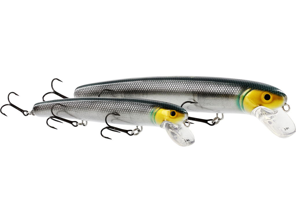 Jätte Crankbait 23cm 101g Floating Natural Pike