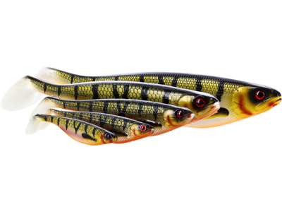 ShadTeez 7cm 4g Bling Perch 4pcs