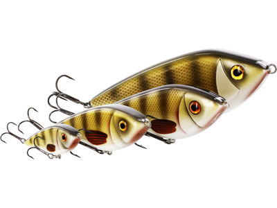 Swim Glidebait 12cm 58g Sinking Crystal Perch