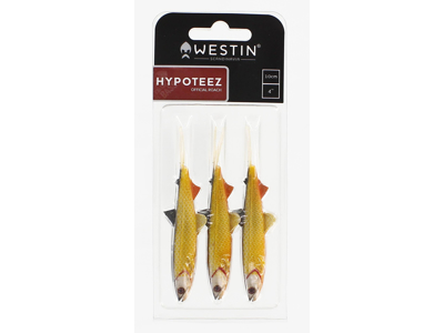 HypoTeez V-Tail 10cm 5g Green Tail Shiner 3pcs