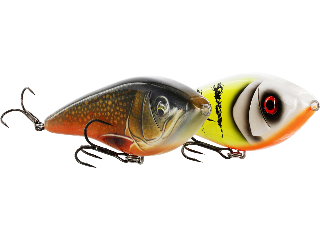 Swim Glidebait 12cm 53g Suspending 3D Earth