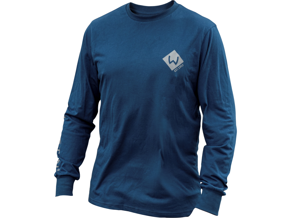 Pro Long Sleeve M Navy Blue