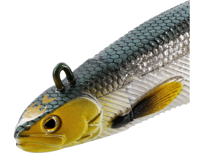 Magic Minnow Jig 52g 15cm Olive Abalone