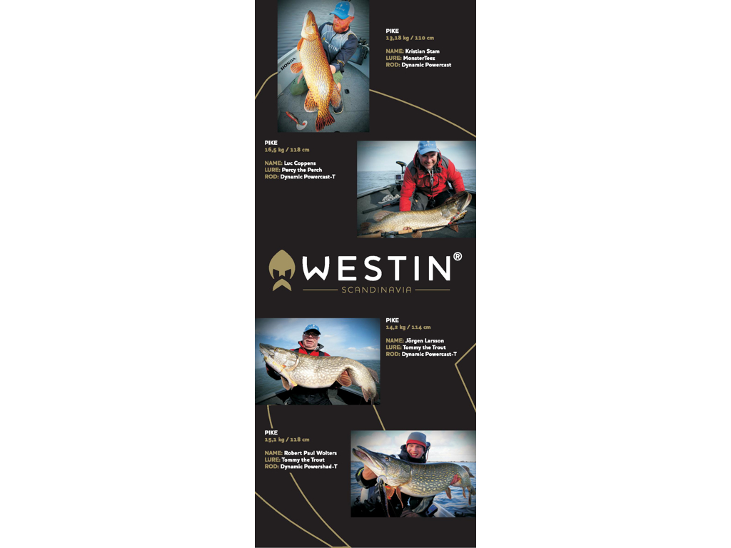 Westin Roll-Up Pike 209x83cm