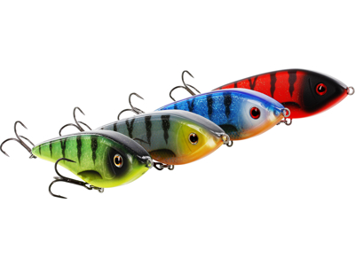 Swim 12 cm 53 g Suspending Black Mullet
