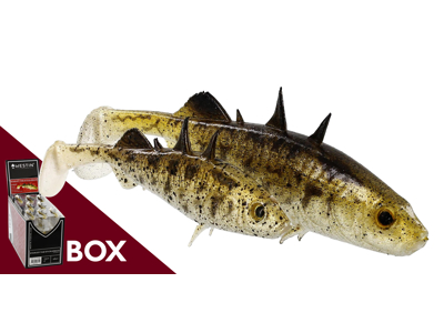 Stanley the Stickleback Shadtail Box