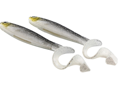 CurlTeez Curltail 8,5cm 6g Bling Perch 2pcs
