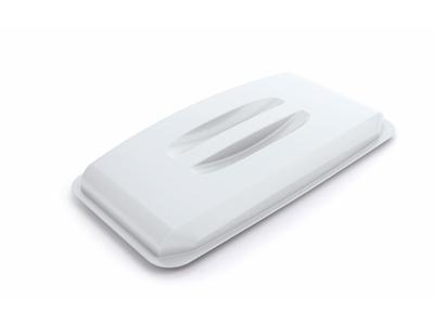 Låg t/Durabin 60L. hvid