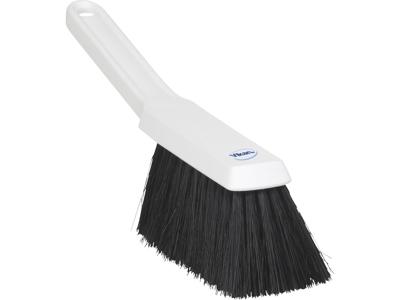 Støvkost Vikan hvid m/sorte børster