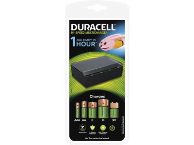 Batterilader Duracell Universal