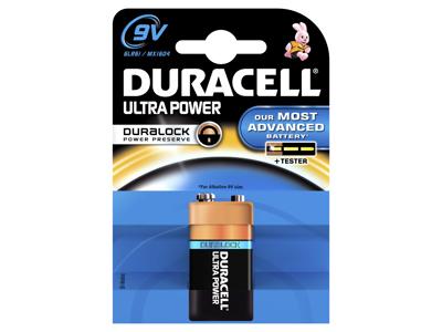 Batteri Duracell Ultra Power 9V