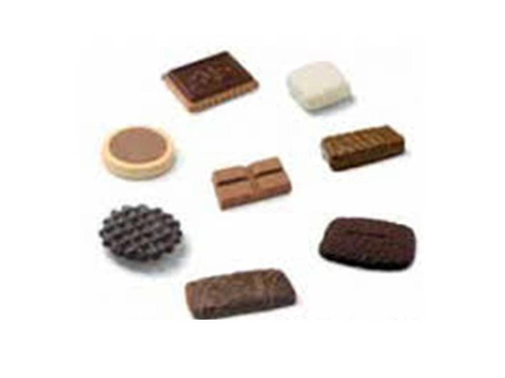 Chokolade/småkage mix 8 slags 120 stk