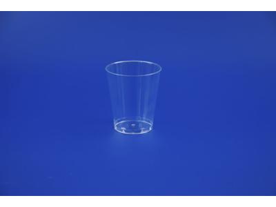 Plastglas hård PS 20 cl 40 stk.