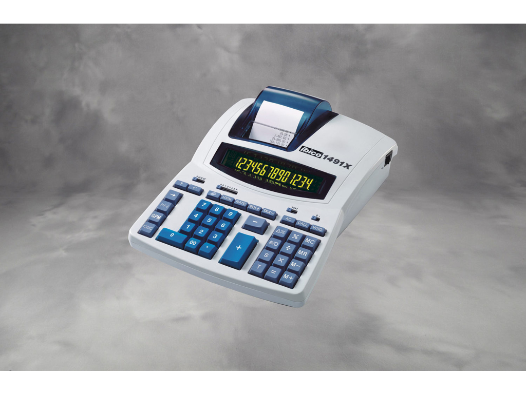 Regner-strimmel Ibico 1491X termoprint