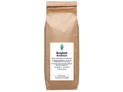 TE ENGLISH BREAKFAST 250 GRAM