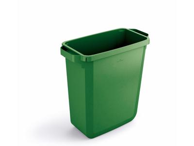 Affaldspand Durabin 60L. grøn rektangulær