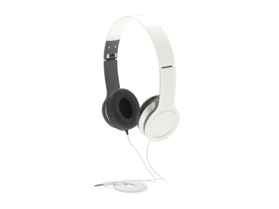 Basic hovedtelefon, hvid