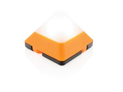 Trekantet mini lanterne, orange