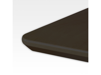 Bordplade 120 x 100 cm Sort
