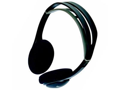 Høretelefon Sandberg Sort