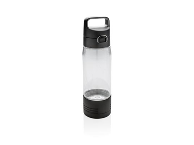 Hydrate flaske med trådløs opladning, gennemsigtige