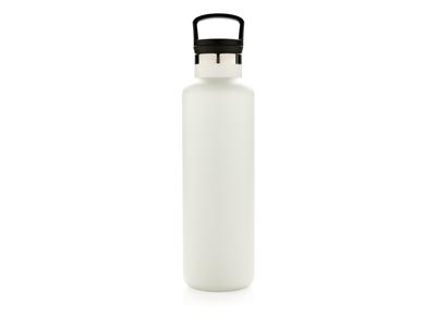 Tætsluttende termoflaske med normal åbning, hvid