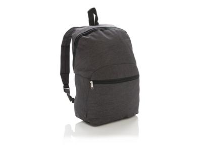 Basic to-tonet rygsæk, stenkul