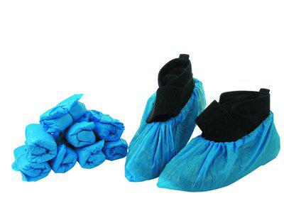 Skoovertræk 36 cm blå 100 stk
