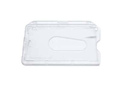 Kortholder klar plast med lås