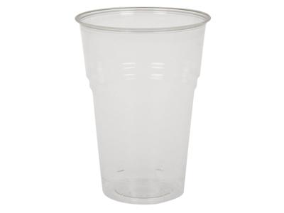Plastglas blød PLA 30 cl 50 stk.