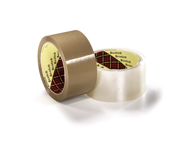 Tape pakke 3M PP acryl 309 48 mm x 66 meter brun