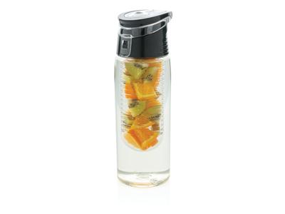 Låsbar dispenser flaske, gennemsigtige