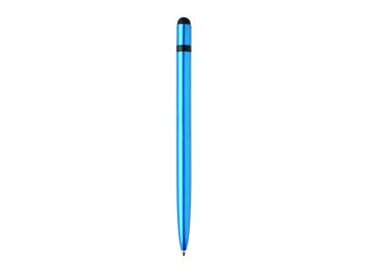 Slim aluminium stylus pen, blå