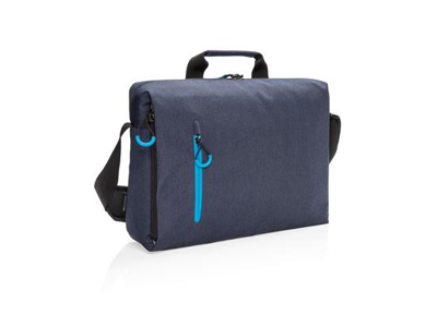 "Lima RFID 15.6"" PVC fri laptop taske, blå"