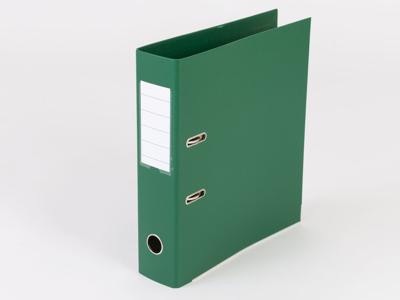 Brevordner A4 75 mm Q-Line grøn