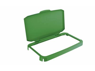 Låg hængslet t/Durable 60L. grøn