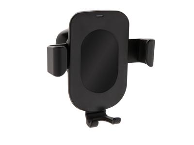 Gravity 5W trådløs oplader og telefon holder, sort