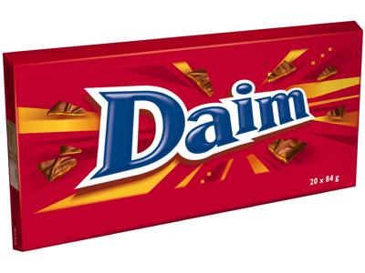 Chokolade Daim XL 1,68 kg