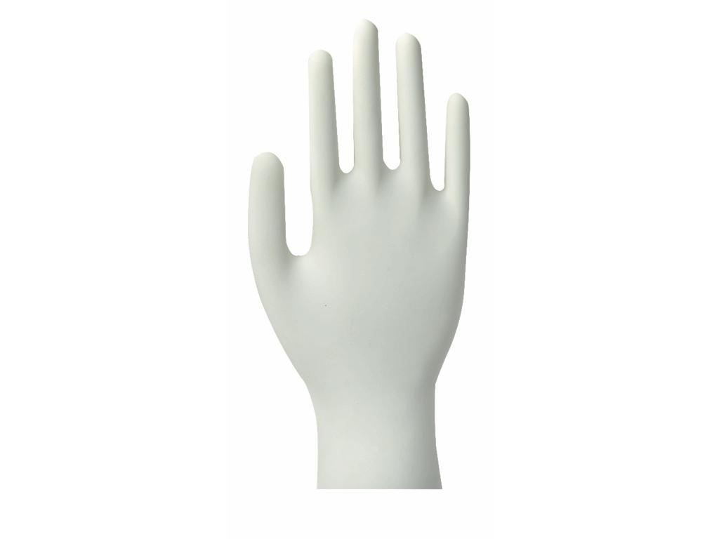 Handsker latex natur medium 100 stk  pudderfri