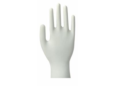 Handsker latex natur M 100 stk. pudderfri