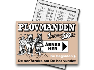 PLOVMANDEN (3000 LODDER)