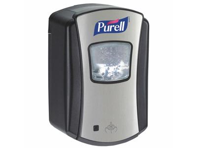 Dispenser Purell LTX til 700 ml. sort/chrom
