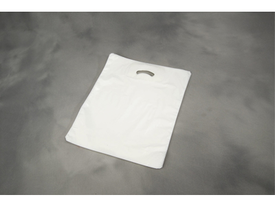 Bærepose 380X450/50mm hvid 28my 500 stk Coex