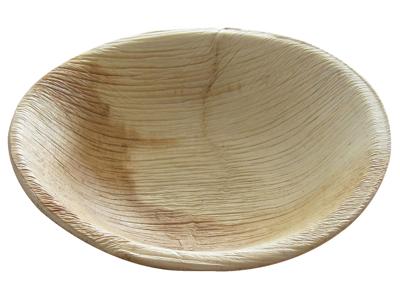 Tallerken Ø13x3cm dyb palmeblad 25 stk.