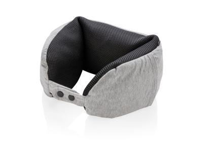 Deluxe rejsepude med mikrokugler, grå