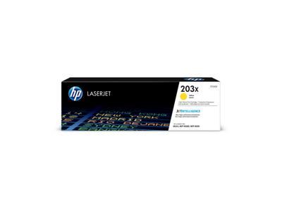 HP 203X Lasertoner CF542X Gul