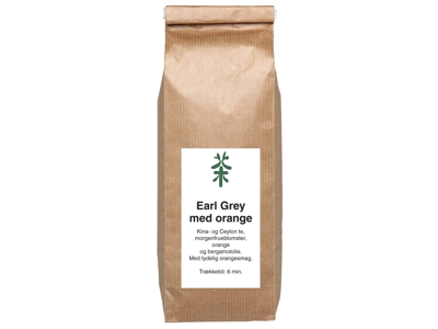TE EARL GREY ORANGE 250 GRAM