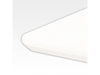 Bordplade 120 x 100 cm Hvid