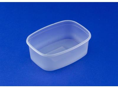 Plastbakke 140x105x48mm 500 ml 50 stk